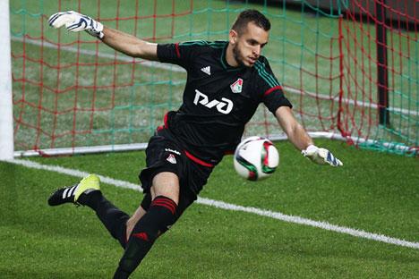 Como jogador do clube moscovita, Guilherme já venceu a Copa da Rússia (2015).