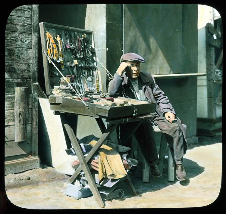 Москва. Улични продавац, 1931.