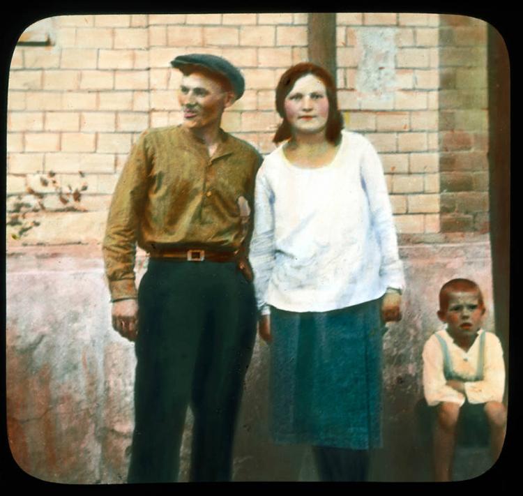 Москва. Породични портрет, 1931.