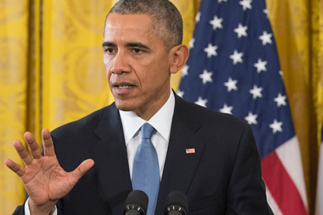 Presiden Amerika Serikat Barack Obama.