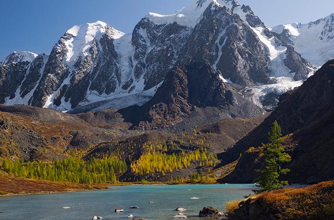 The Altai Mountains, t...