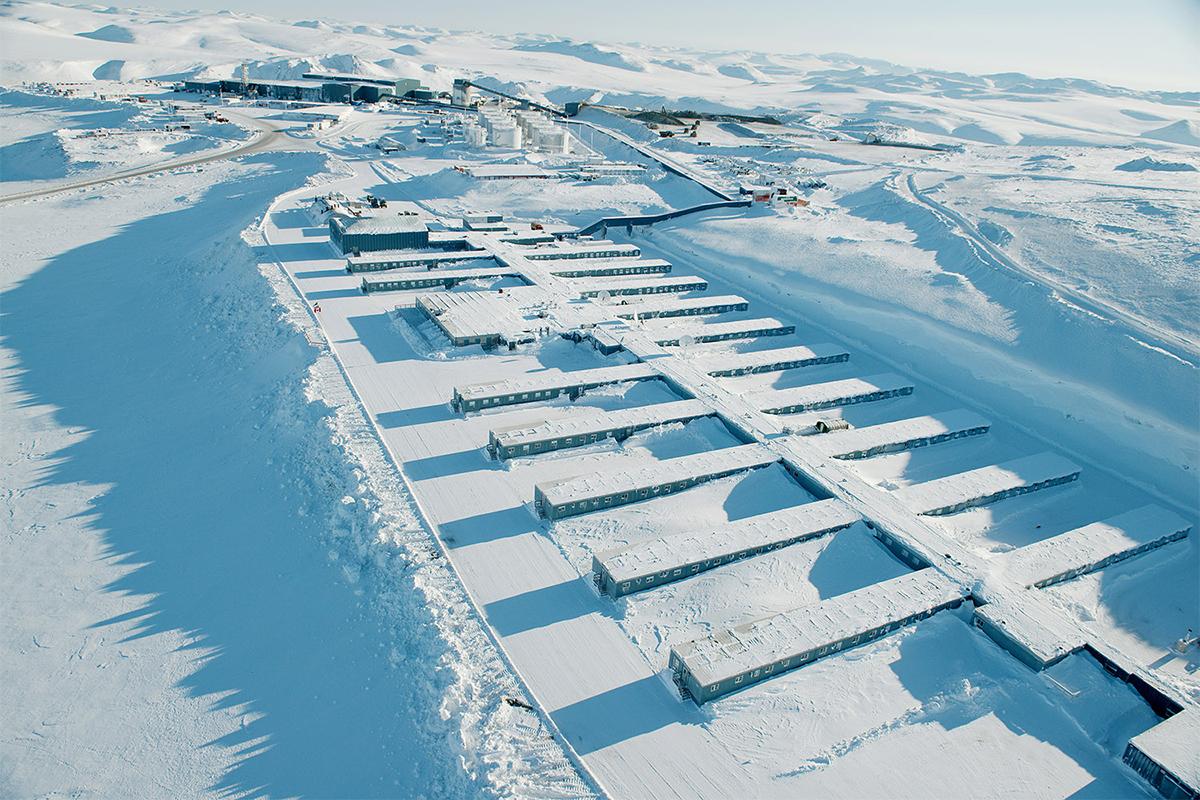 Zlatni rudnik Kupola nalazi se na rubu Istočnog Sibira, u Čukotki.