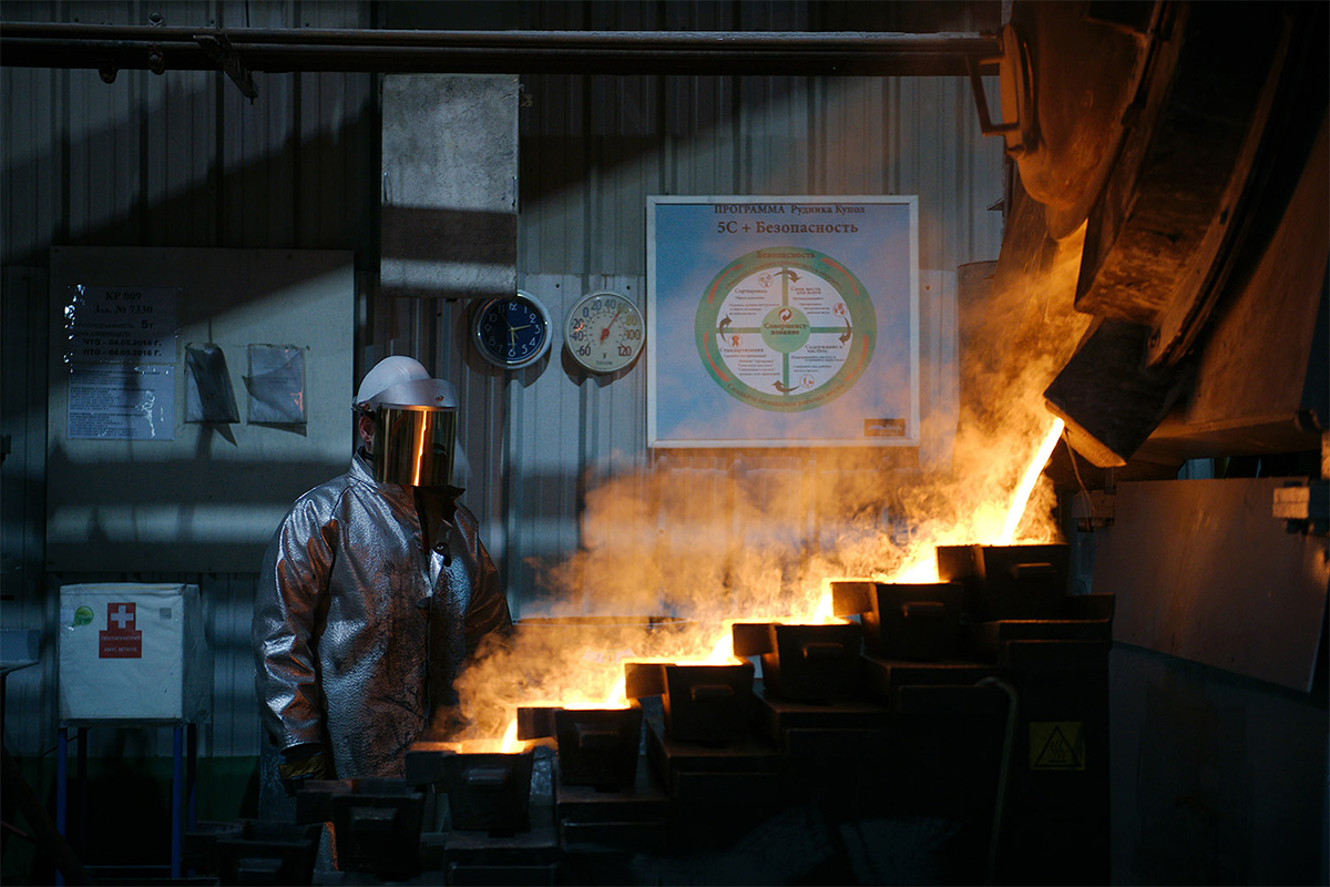 ''Danas je ovaj rudnik najsuvremeniji na svijetu, bez obzira što se nalazi na jako izoliranom mjestu, u najokrutnijim vremenskim uvjetima. Izgleda kao set za neki znanstveno-fantastični film. U svakom dijelu uključene su napredne tehnologije, suvremeni uređaji rade kako bi se smanjila opasnost za radnike'', Elena Černiševa dijeli svoje utiske.