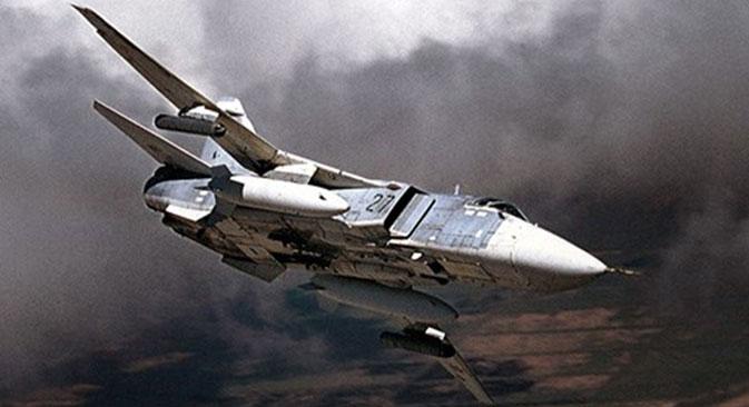 Un Sukhoï Su-24.
