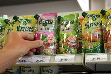 Embargo deve levar a ligeira aceleração da inflação ao consumidor russo.