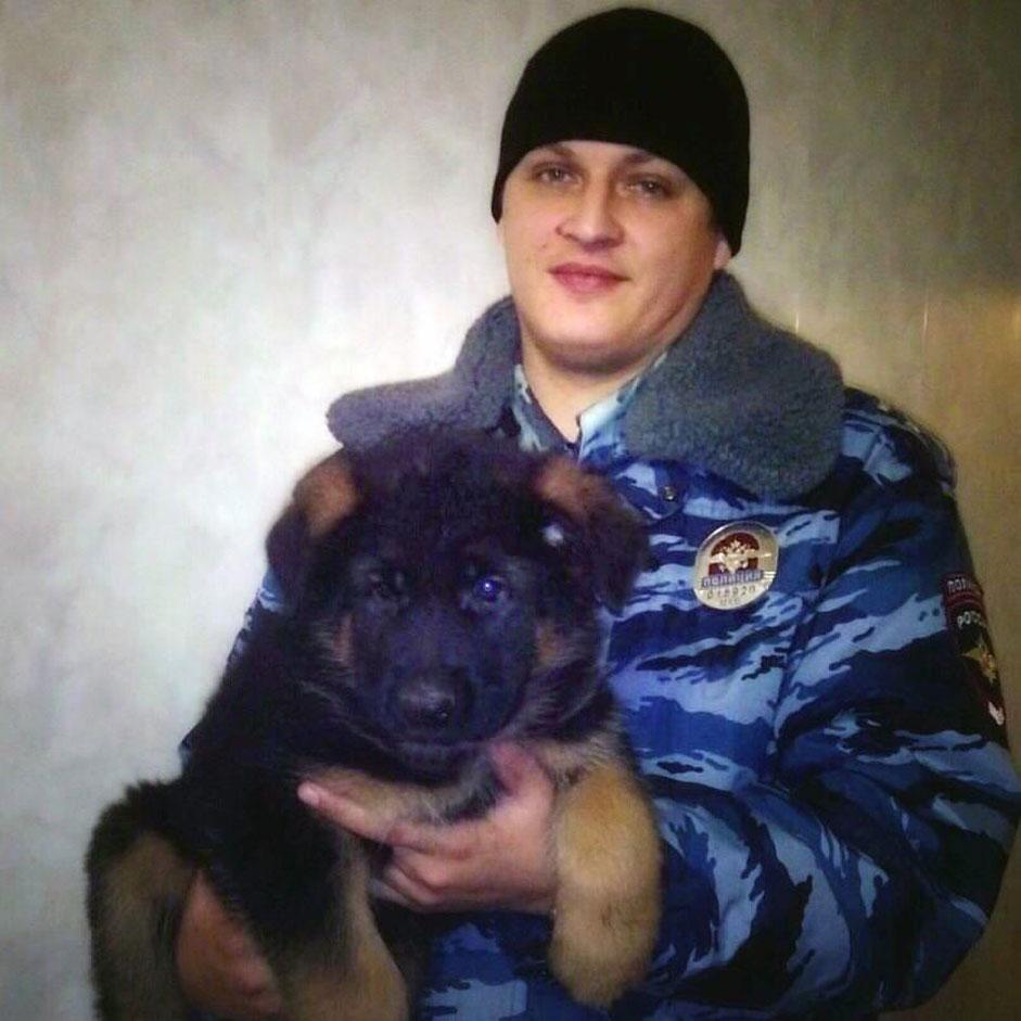Кученцето Добриня, което руското Министерство на вътрешните работи реши да подари на френските си колеги в знак на солидарност в борбата с тероризма. Добриня, наречен така в чест на руския богатир, трябва да замени служебното куче Дизел, загинало по време на антитерористичната операция в парижкото предградие Сен Дени.