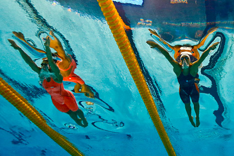 The Aquatics World Championships in Kazan.