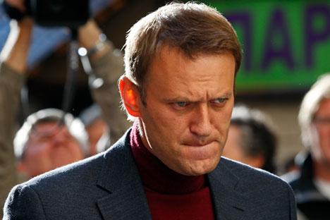Russian opposition figure Alexei Navalny.