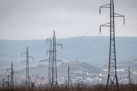 Elektroenergetska mreža na Krimu.