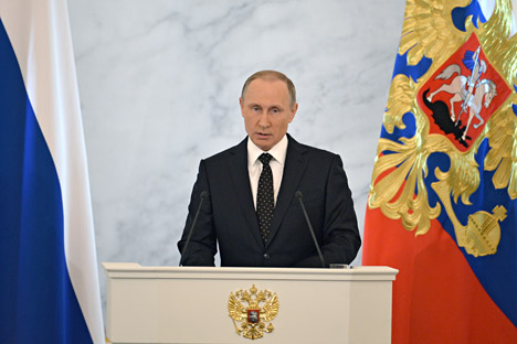 Russia has no right to be vulnerable: Putin