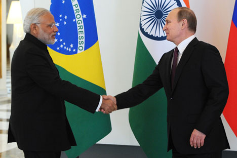 Narendra Modi and Vladimir Putin probably don't need interpreters.