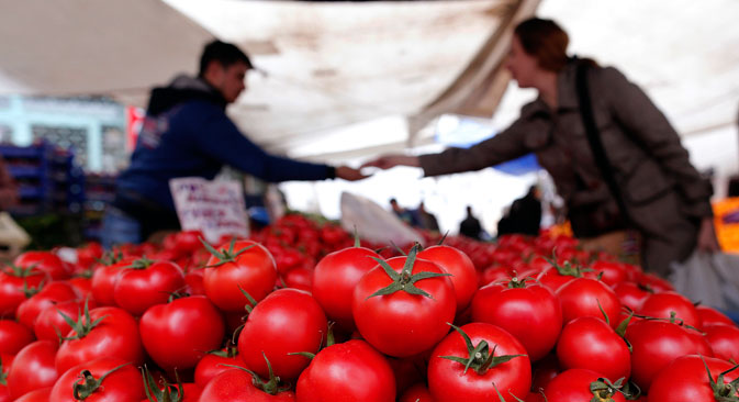 Russia will not destroy Turkish tomatoes.