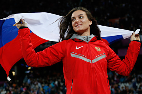 "Yelena Isinbayeva: ""We should fight for the right to participate in the Olympics in Rio."""