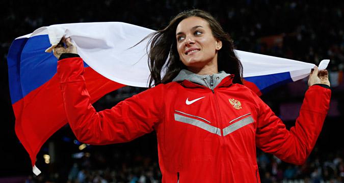 Elena Isinbaeva.
