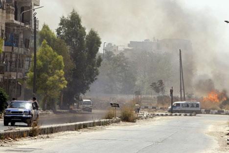 Setelah baku tembak secara intens, Tentara Suriah berusaha untuk mencegah kelompok teroris menerobos ke pusat kota Aleppo.