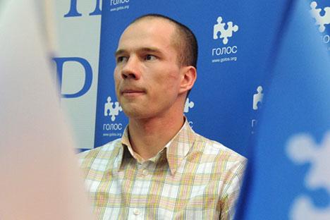 Opposition activist Ildar Dadin.