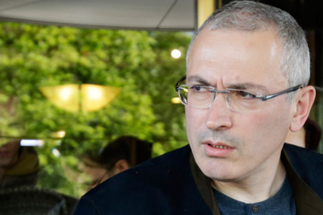 Mikhaïl Khodorkivski.
