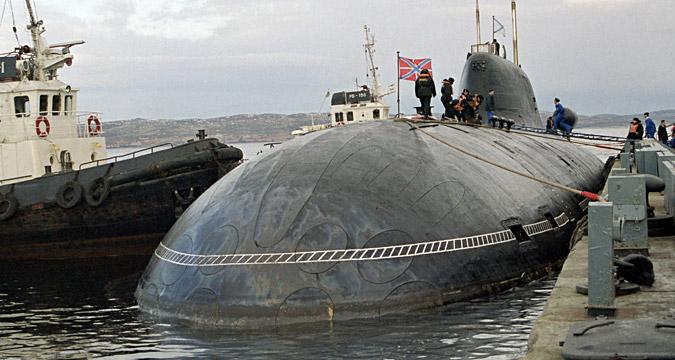 '베프리' 핵잠수함, 세베로모르스크.