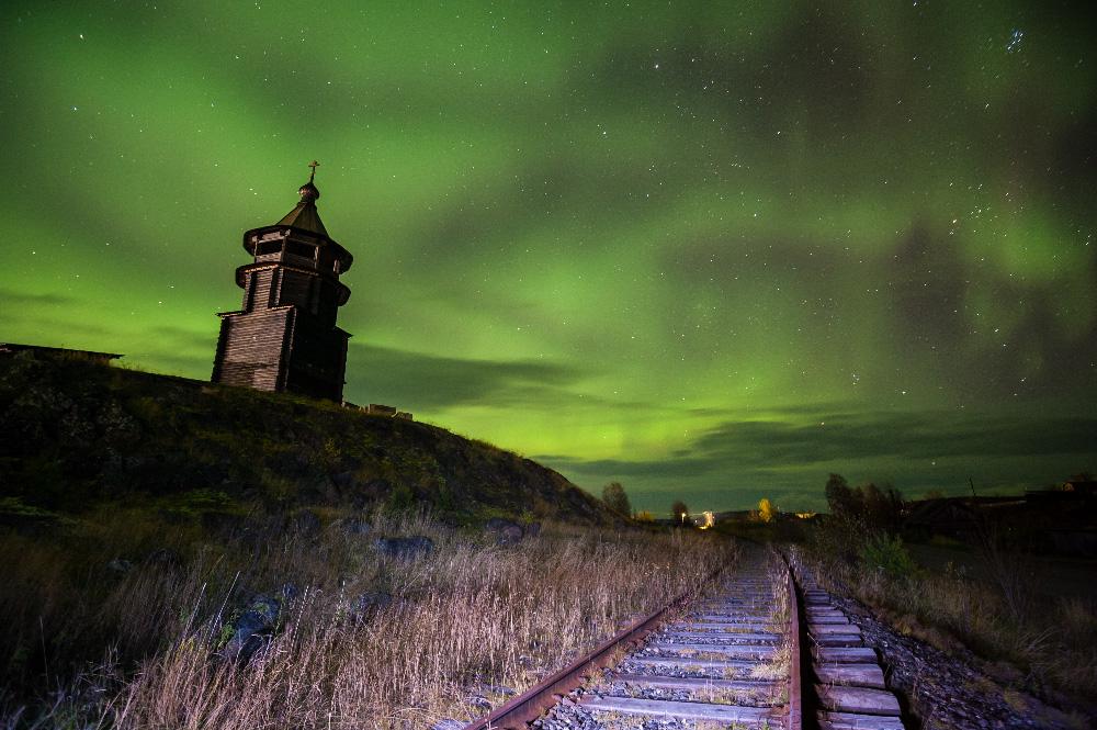 """""""Schon im August konnte ich die ersten Aufnahmen des Polarlichts machen. Das ist unglaublich"""", so der Fotograf."""