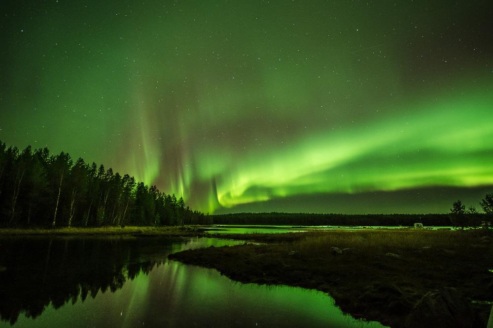 Noch nie war die Nacht am Polarkreis so hell!