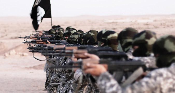 Combattenti dello Stato Islamico, Siria.