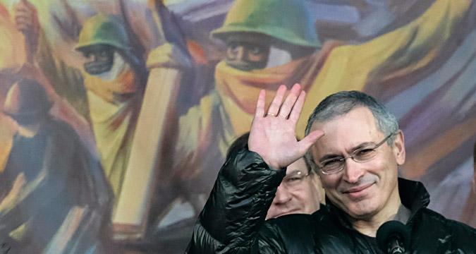 """Michail Chodorkowski: """"Eine Revolution steht bevor."""""""