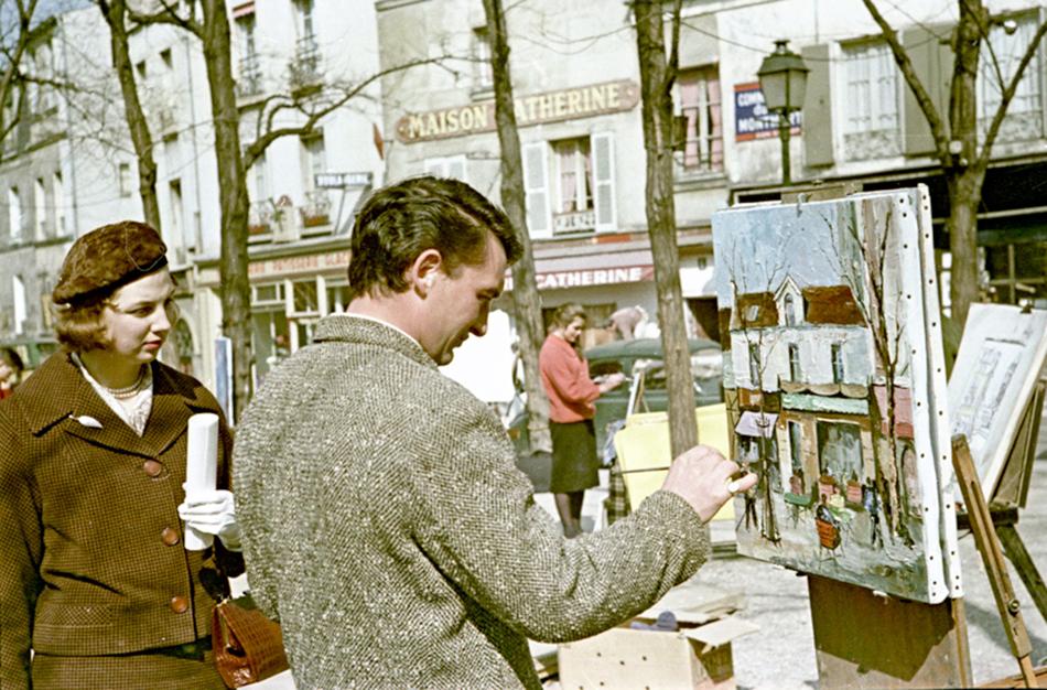 Fotograf je ovjekovječio šarm Europe: ulične umjetnike na Montmartreu...