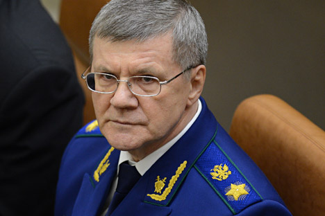 Yury Chaika, Prosecutor General of the Russian Federation.