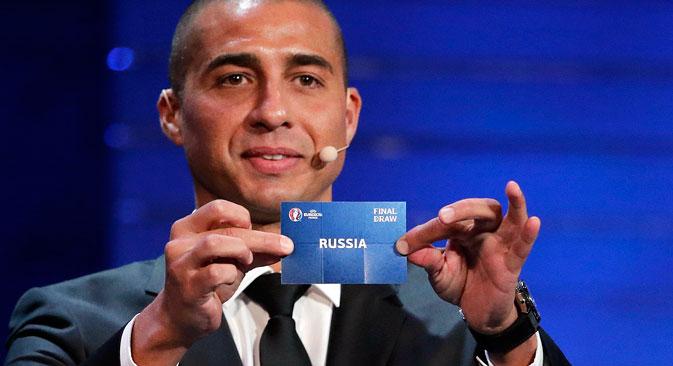 La Russie se retrouve dans le Groupe B avec les équipes de l'Angleterre, du Pays de Galles et de la Slovaquie.