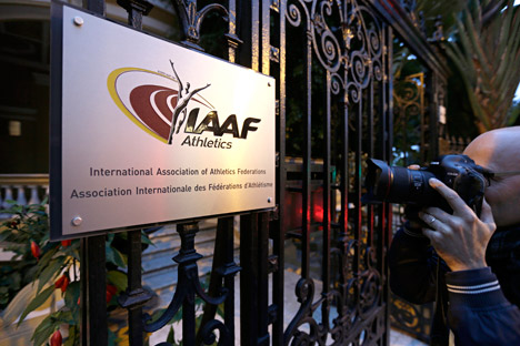 The International Association of Athletics Federations.