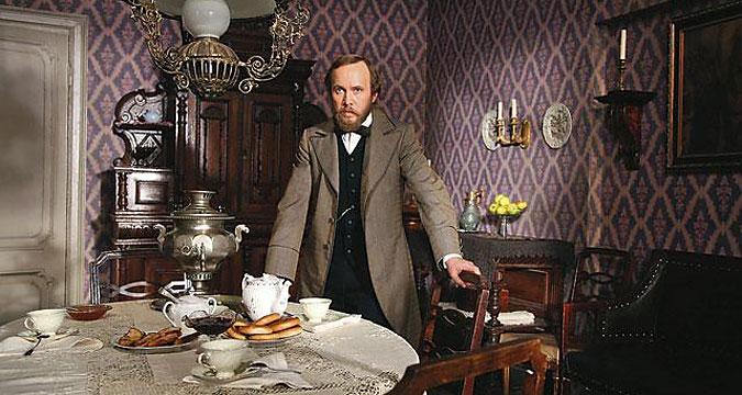 A screenshot from 'Dostoevsky' (2010) series.