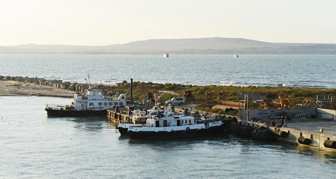 Kerch Strait.
