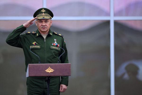 Serguéi Shoigú, ministro ruso de Defensa.