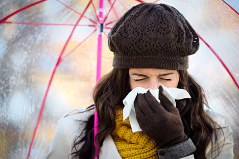 It is not a big deal to catch a cold in winter.