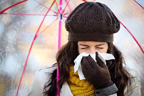 Nicht alle russischen Haushaltstricks gegen Erkältung sind empfehlenswert.