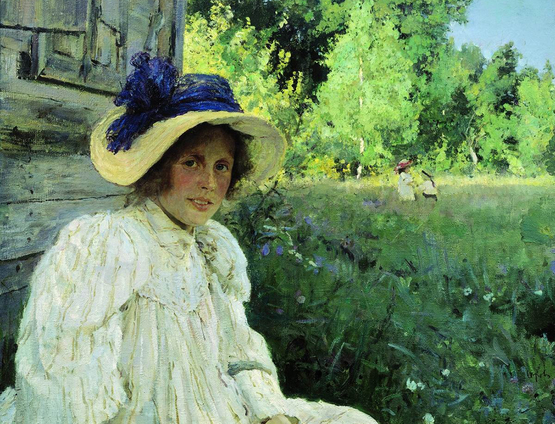In summer, Valentin Serov, 1895.