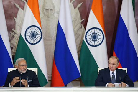 The strategic relation with Russia will retain India's centrality in 2017.