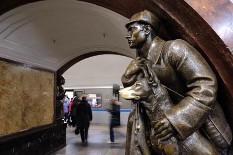 Московското метро.