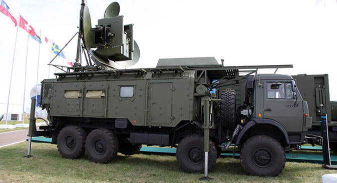 The Krasukha-4 Electronic Warfare System