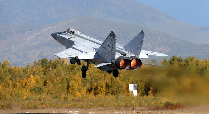 The MiG-31 remains the cornerstone of Russia's air defences.