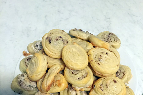 Tvorog cookies.