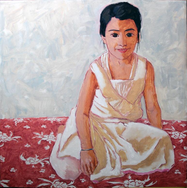 Abu, oil on canvas, 2013
