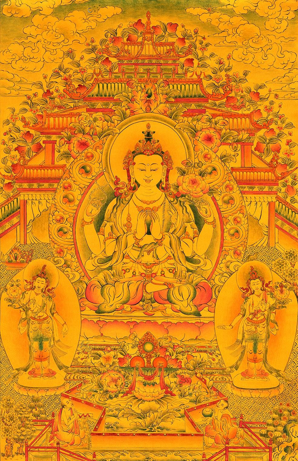 En 1986, alors qu'il vivait à Oulan-Oude, Dudko a commencé à apprendre l'art du Thangka, des peintures sacrées bouddhistes tibétaines sur des toiles de coton ou de soie. Ses premiers professeurs étaient des lamas bouriates des temples Dharama-Doddi et Jimba-Jamso.