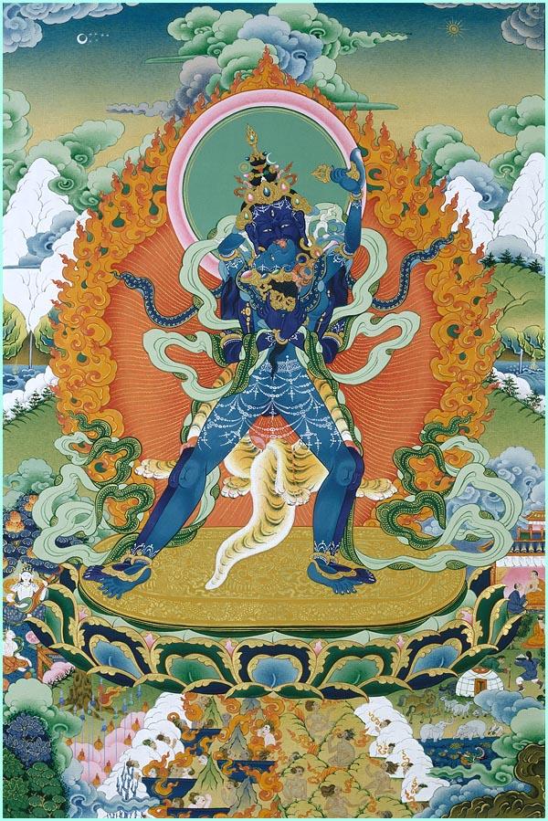 Certaines de ses œuvres sont conservées dans des temples bouddhistes au Tibet, en Mongolie et en Bouriatie.