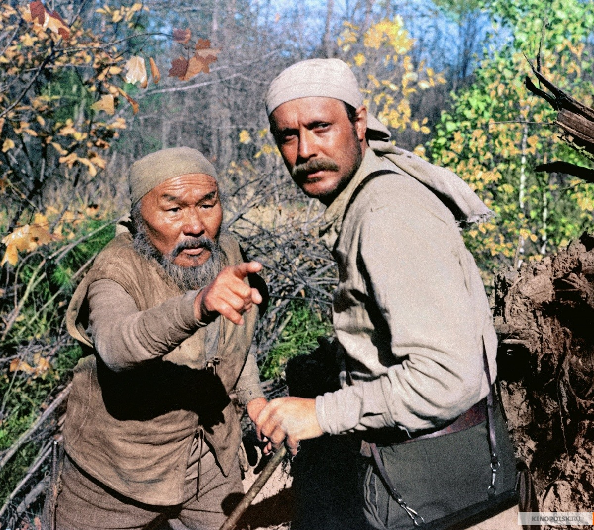 A scene from 'Dersu Uzala'.