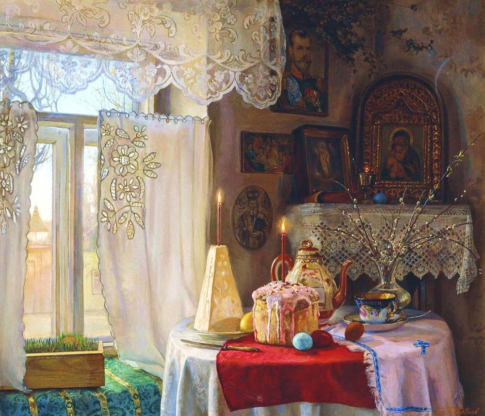 Ilya Kaverznev, 2005. Le dimanche de Pâques