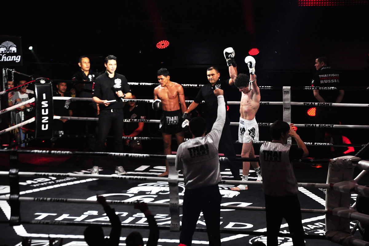 10. In the last fight, Russian Aqnur Mullagaliev from Dagestan beat Insee-Samui.