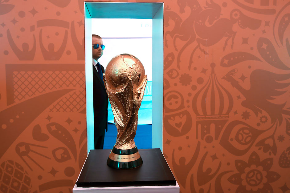 Presentation of the FIFA World Cup 2018 prize
