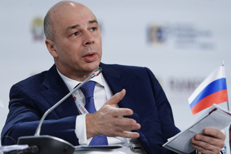 Russian Finance Minister Anton Siluanov: 'We are currently moving towards the implementation of the best global practices.'
