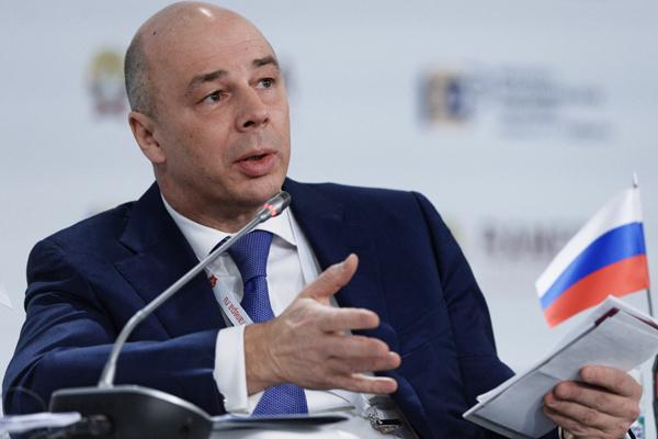 Menteri Keuangan Rusia Anton Siluanov.